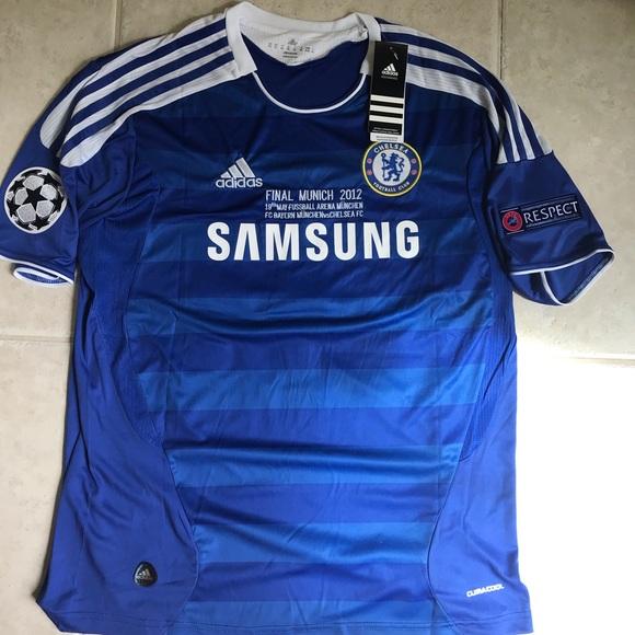 pretty nice b574c 1f791 New Didier Drogba 2012 Champions league jersey NWT